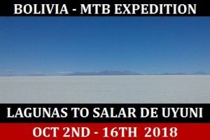 Click here for the Bolivia Lagunas to Salar de Uyuni MTB Expedtion Tour